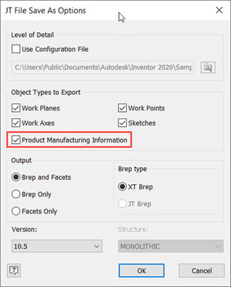 what's new in inventor 2021 jt exports