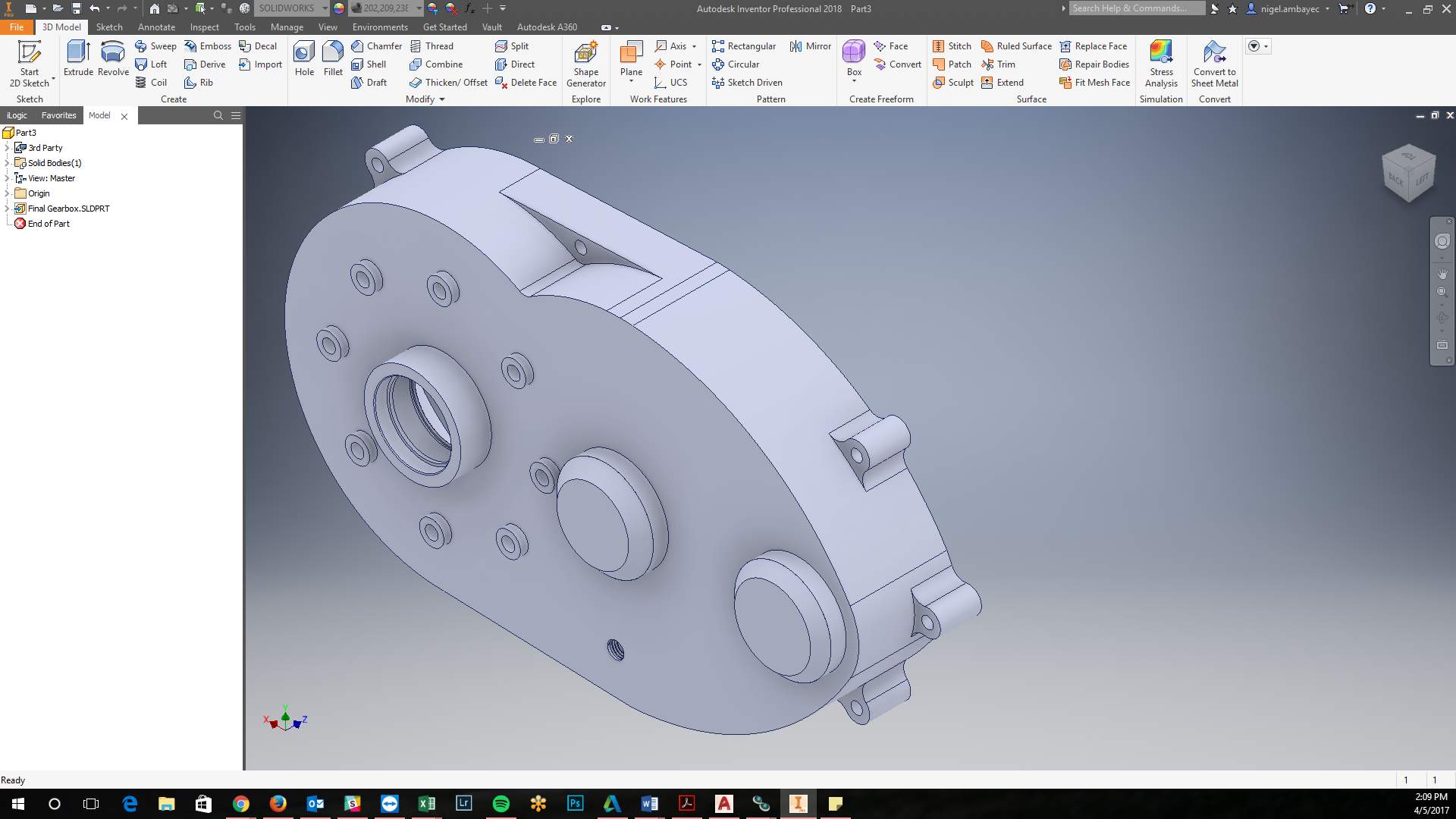 AnyCAD in Inventor: Working with Other CAD Files | KETIV