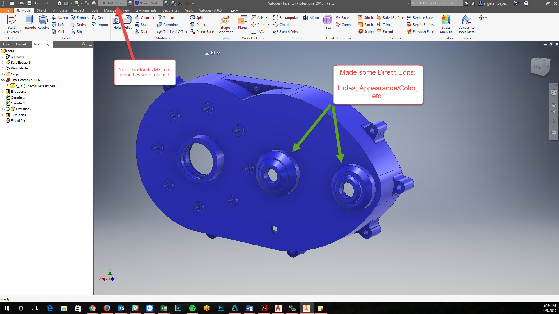 Autodesk Inventor AnyCAD - Updated File