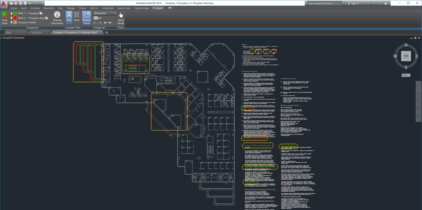 DWG Compare _ autocad