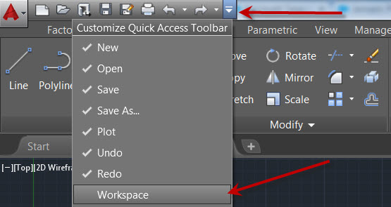 Restoring AutoCAD Classic Workspace in AutoCAD 2015 and Beyond | KETIV